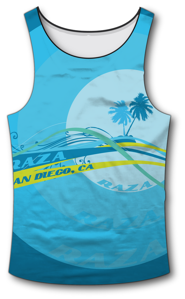 Beach Tank Top - RazaLife - Tech Tank Top - RazaLife - RazaLife - paintball - custom - jerseys - sports - uniforms - woodsball - softball - baseball - basketball - soccer