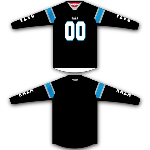 Black Blue White TM2 Jersey