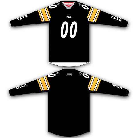 Black Yellow TM2 Jersey