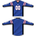 Blue Red White Stripe TM2 Jersey - RazaLife - TM2 Jersey - RazaLife - RazaLife - paintball - custom - jerseys - sports - uniforms - woodsball - softball - baseball - basketball - soccer