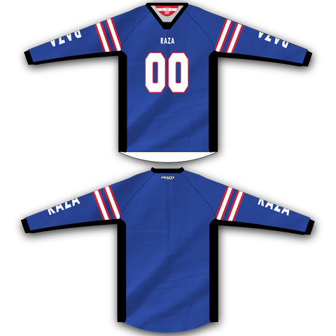 Blue Red White Stripe TM2 Jersey