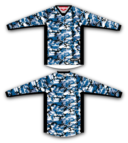 Blue Woodland TM2 Jersey