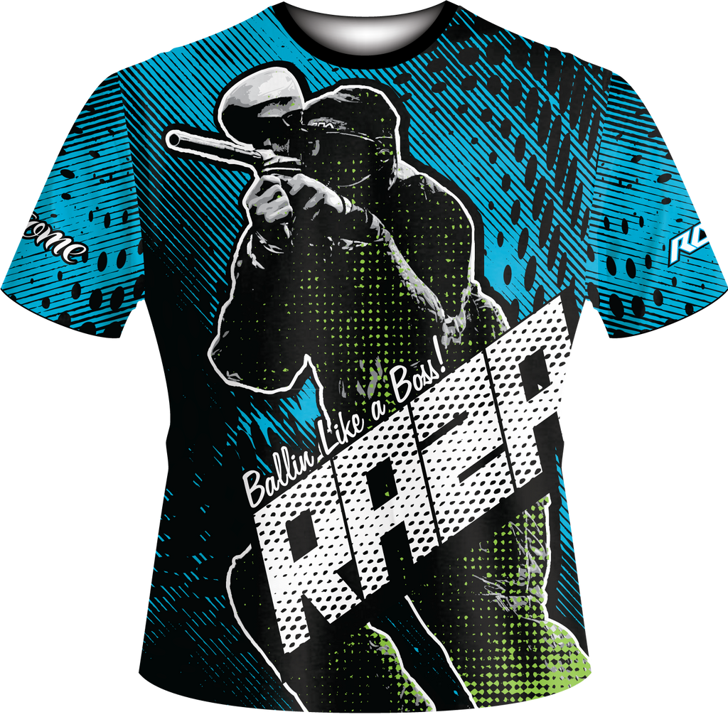 Bobbin N Weavin Tech Shirt - RazaLife - Tech Shirt - Razalife - RazaLife - paintball - custom - jerseys - sports - uniforms - woodsball - softball - baseball - basketball - soccer