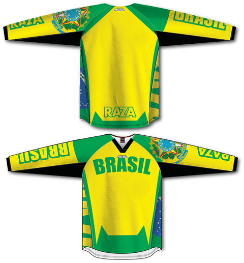 Brasil TM2 Jersey - RazaLife - TM2 Jersey - RazaLife - RazaLife - paintball - custom - jerseys - sports - uniforms - woodsball - softball - baseball - basketball - soccer