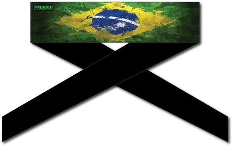 Brazil Flag Series Headband