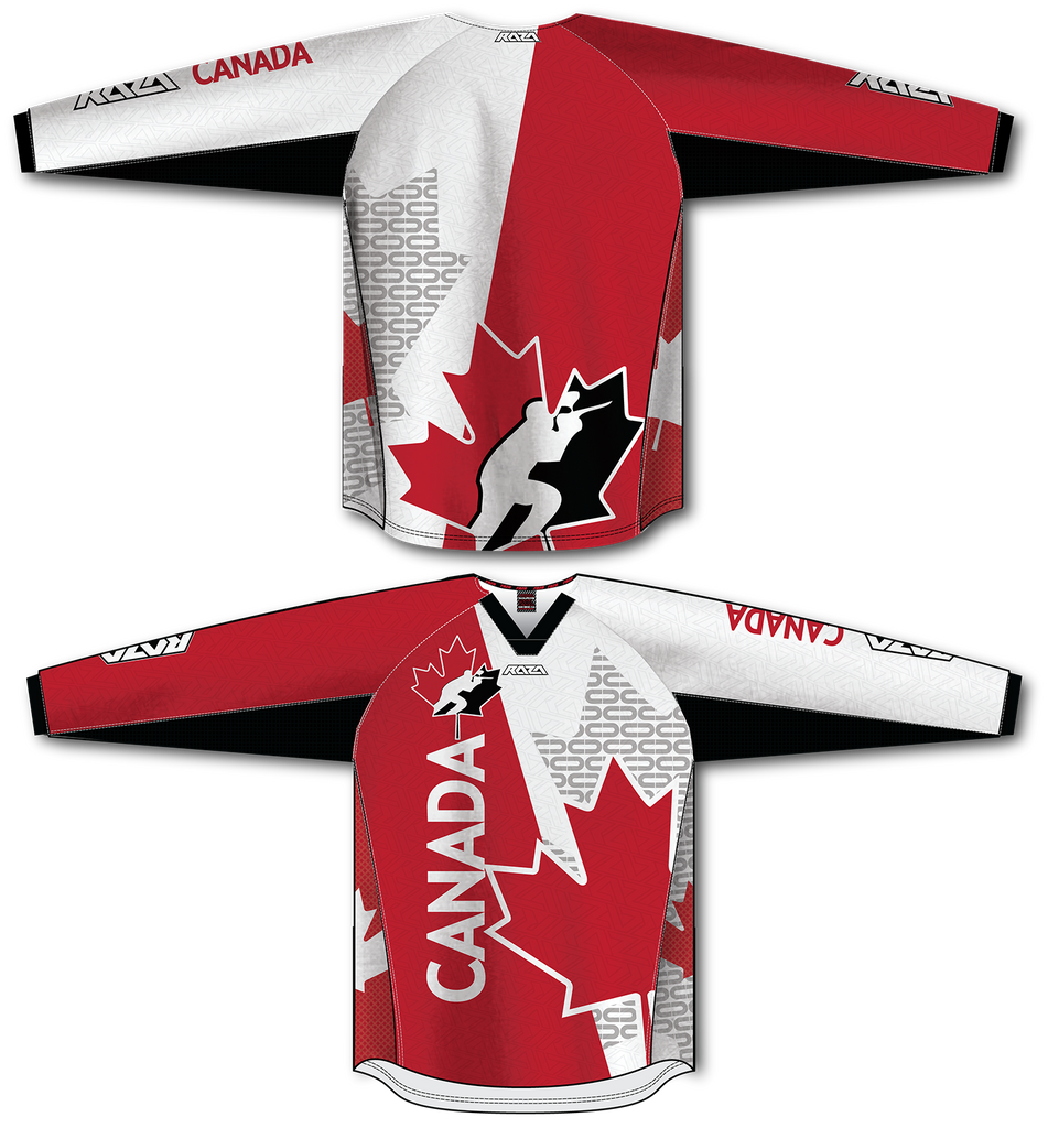 Canada TM2 Jersey - RazaLife - TM2 Jersey - RazaLife - RazaLife - paintball - custom - jerseys - sports - uniforms - woodsball - softball - baseball - basketball - soccer