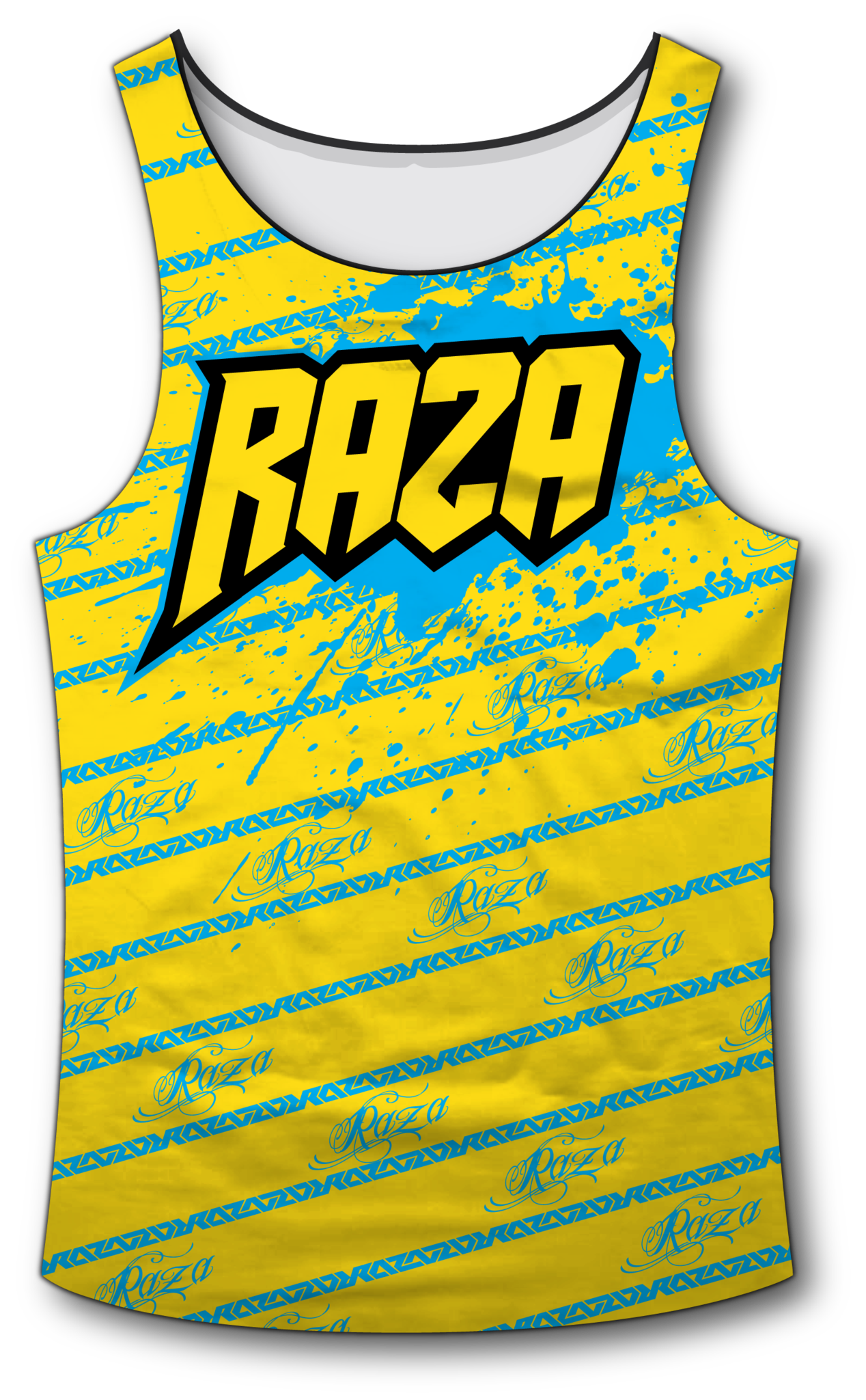 Candy YB Tank Top - RazaLife - Tech Tank Top - RazaLife - RazaLife - paintball - custom - jerseys - sports - uniforms - woodsball - softball - baseball - basketball - soccer