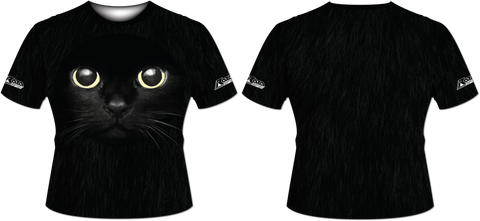 Black Cat Tech Shirt