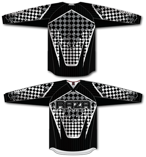 Checkered Mayhem TM2 Jersey - RazaLife - TM2 Jersey - RazaLife - RazaLife - paintball - custom - jerseys - sports - uniforms - woodsball - softball - baseball - basketball - soccer