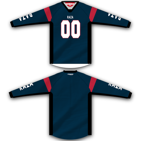 Dark Blue Red TM2 Jersey