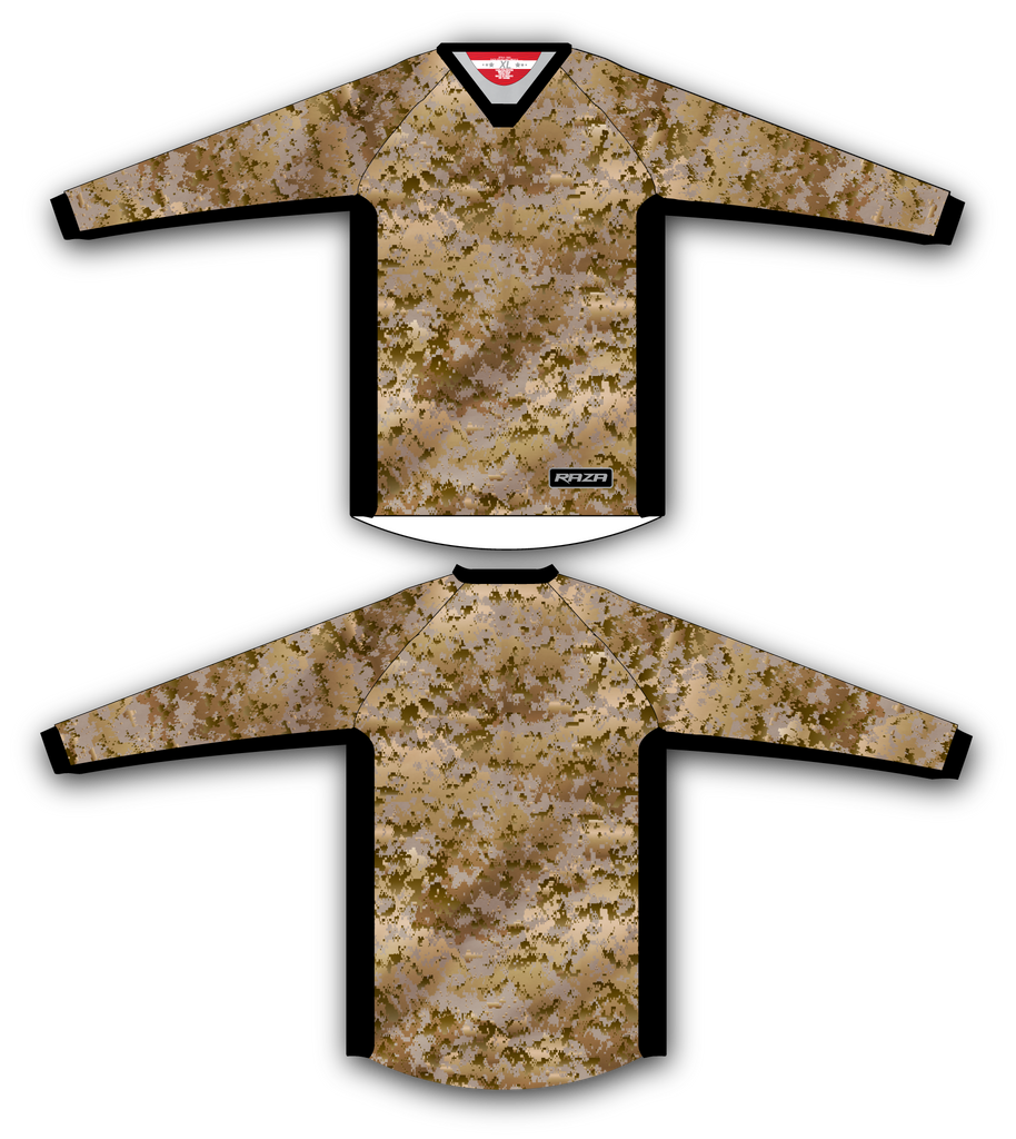 Desert Light Digi TM2 Jersey - RazaLife - TM2 Jersey - RazaLife - RazaLife - paintball - custom - jerseys - sports - uniforms - woodsball - softball - baseball - basketball - soccer