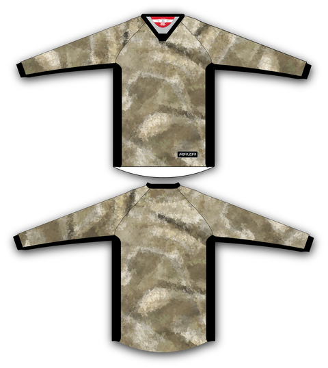 Desert Vanish TM2 Jersey - RazaLife - TM2 Jersey - RazaLife - RazaLife - paintball - custom - jerseys - sports - uniforms - woodsball - softball - baseball - basketball - soccer
