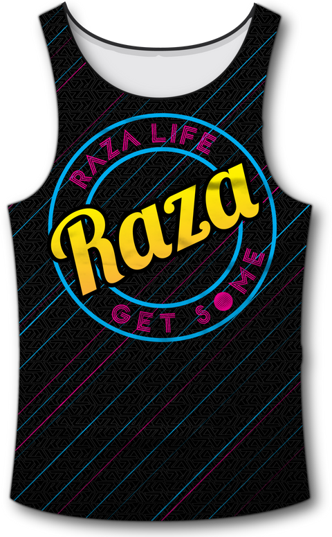 Diagnol Tank Top - RazaLife - Tech Tank Top - RazaLife - RazaLife - paintball - custom - jerseys - sports - uniforms - woodsball - softball - baseball - basketball - soccer