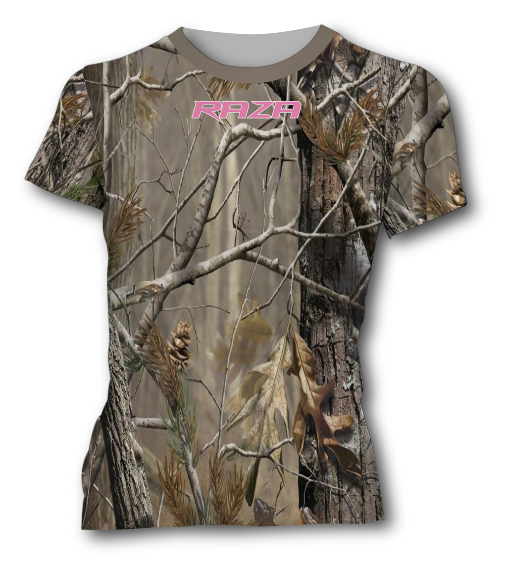 Women's Fake Tree Tech Shirt
