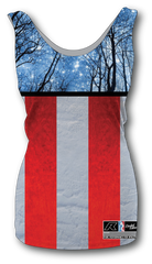 Women's American Flag Tank Top