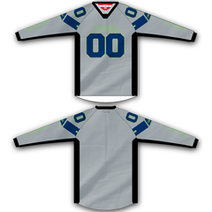 Gray Navy Lime TM2 Jersey