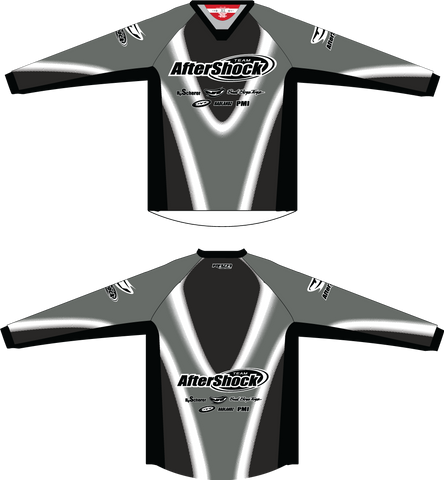 Aftershock Throwback Grey TM2 JERSEY