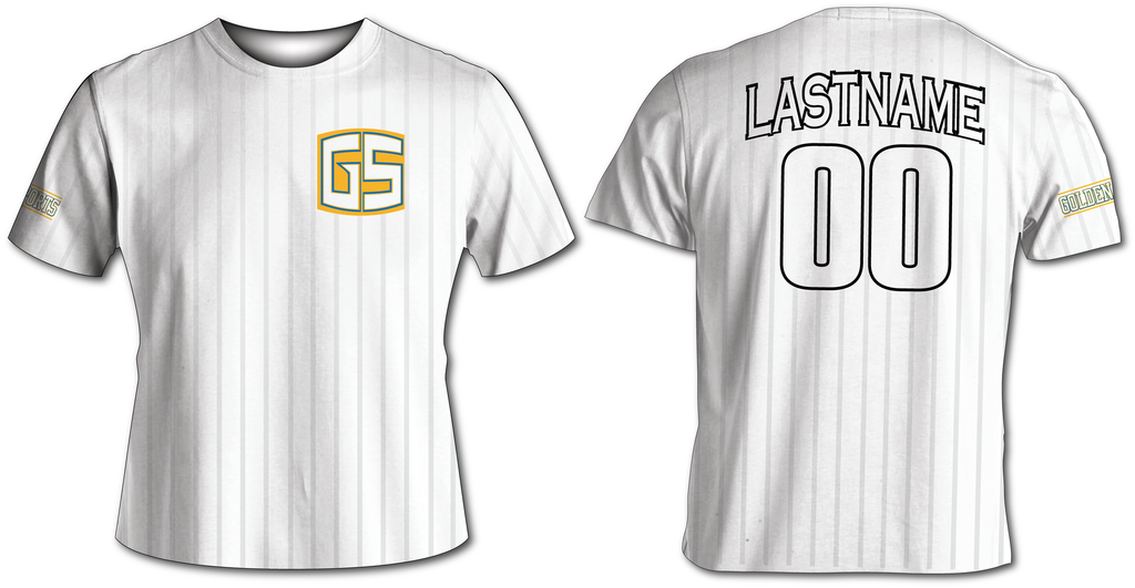 GS Brand Softball Jersey - White
