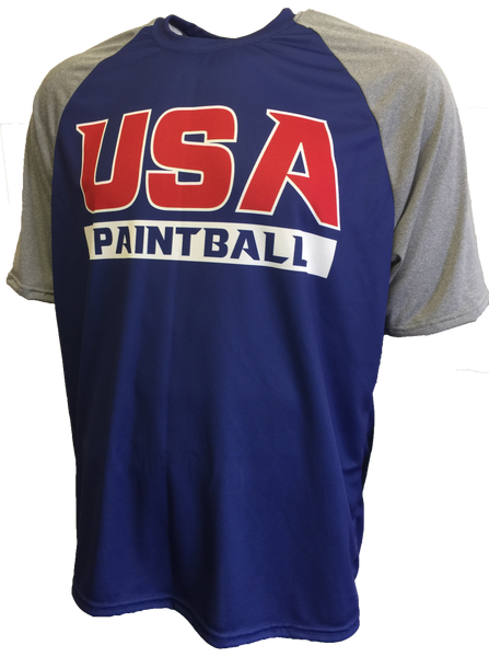 Team USA Paintball Comfort Tech Shirt