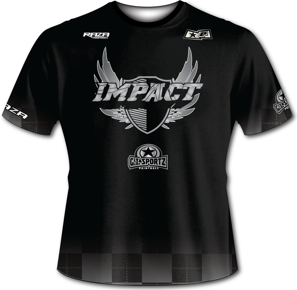 Edmonton Impact Black Checkered Tech Shirt