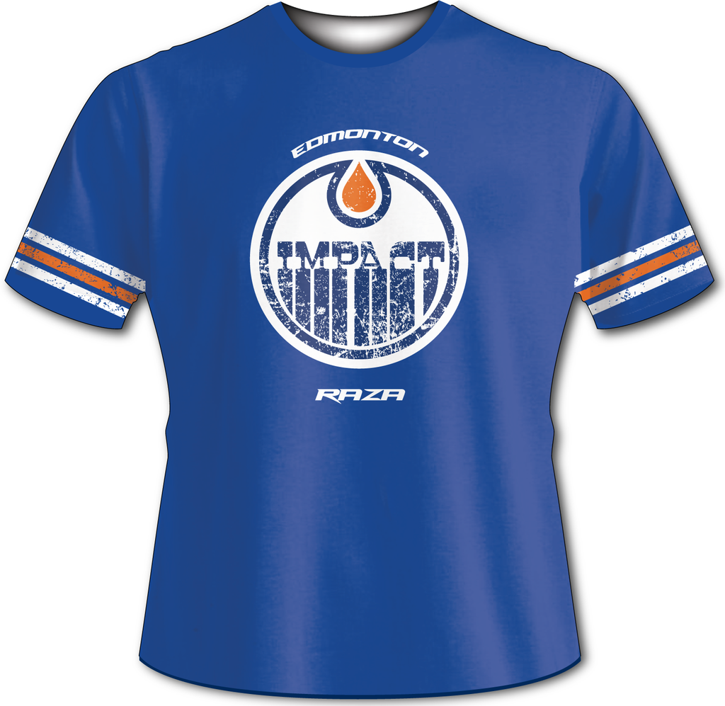 Edmonton Impact Retro Tech Shirt