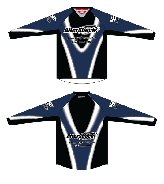 Aftershock Throwback Blue TM2 JERSEY