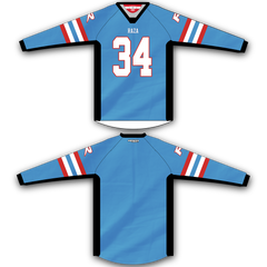 Light Blue Red TM2 Jersey