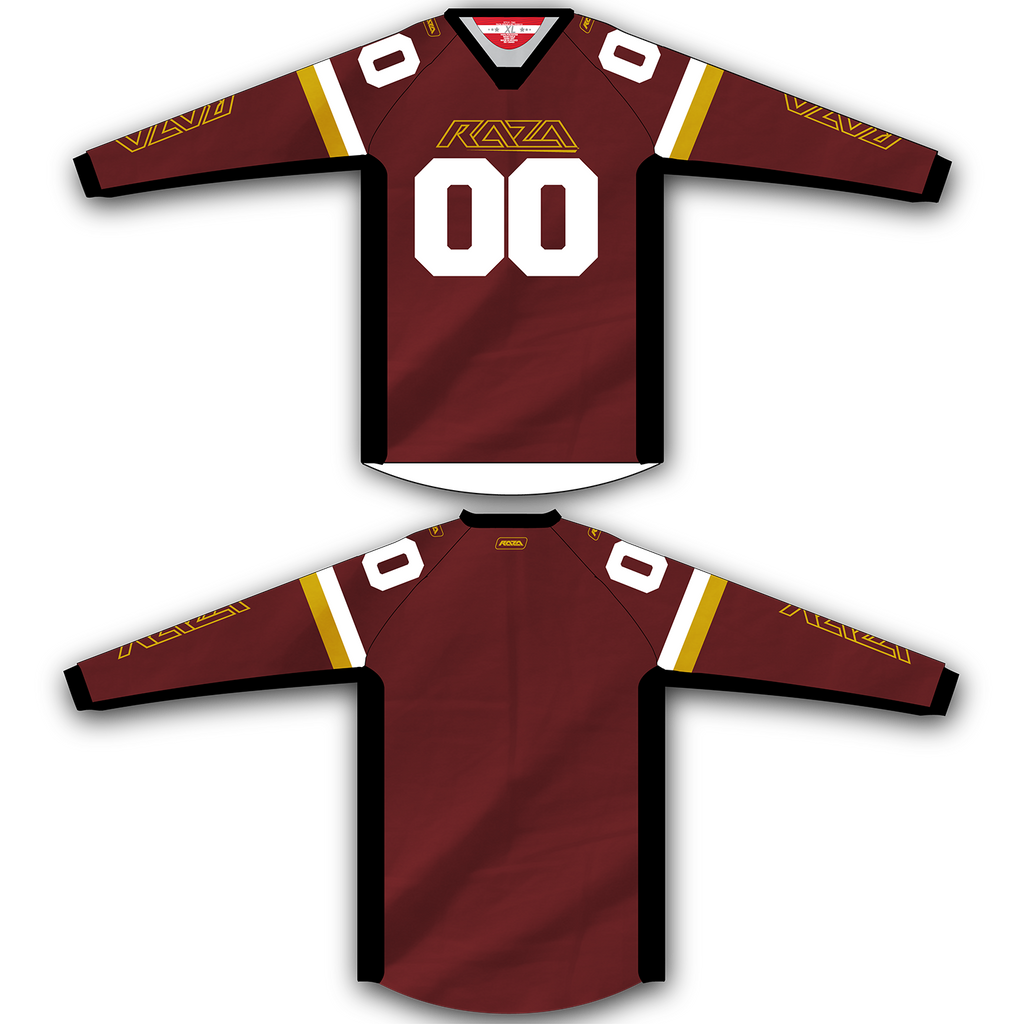 Maroon Gold Jersey