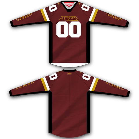 Maroon Gold TM2 Jersey