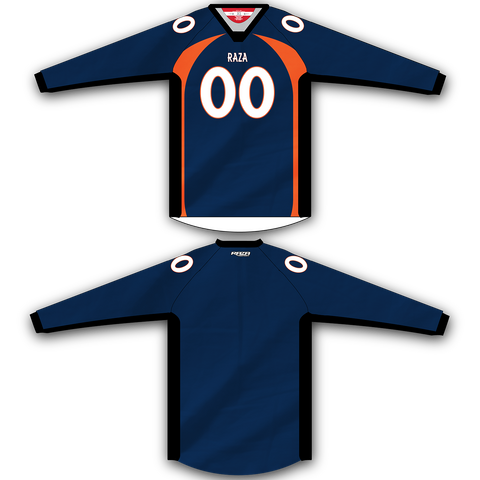 Navy Orange TM2 Jersey