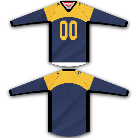 Navy Yellow Jersey