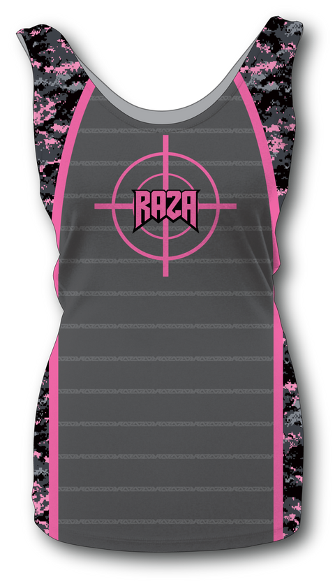 Women's Dallas Pink Digi Tank Top