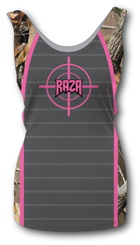 Women's Dallas Pink Target Tank Top
