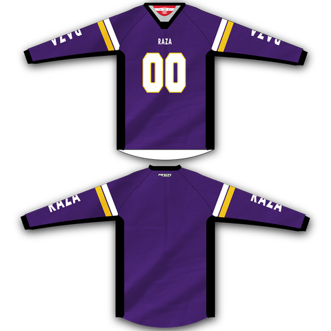 Purple Yellow White TM2 Jersey