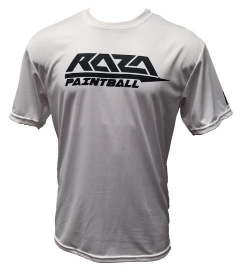 RAZA 2018 White Tech Shirt