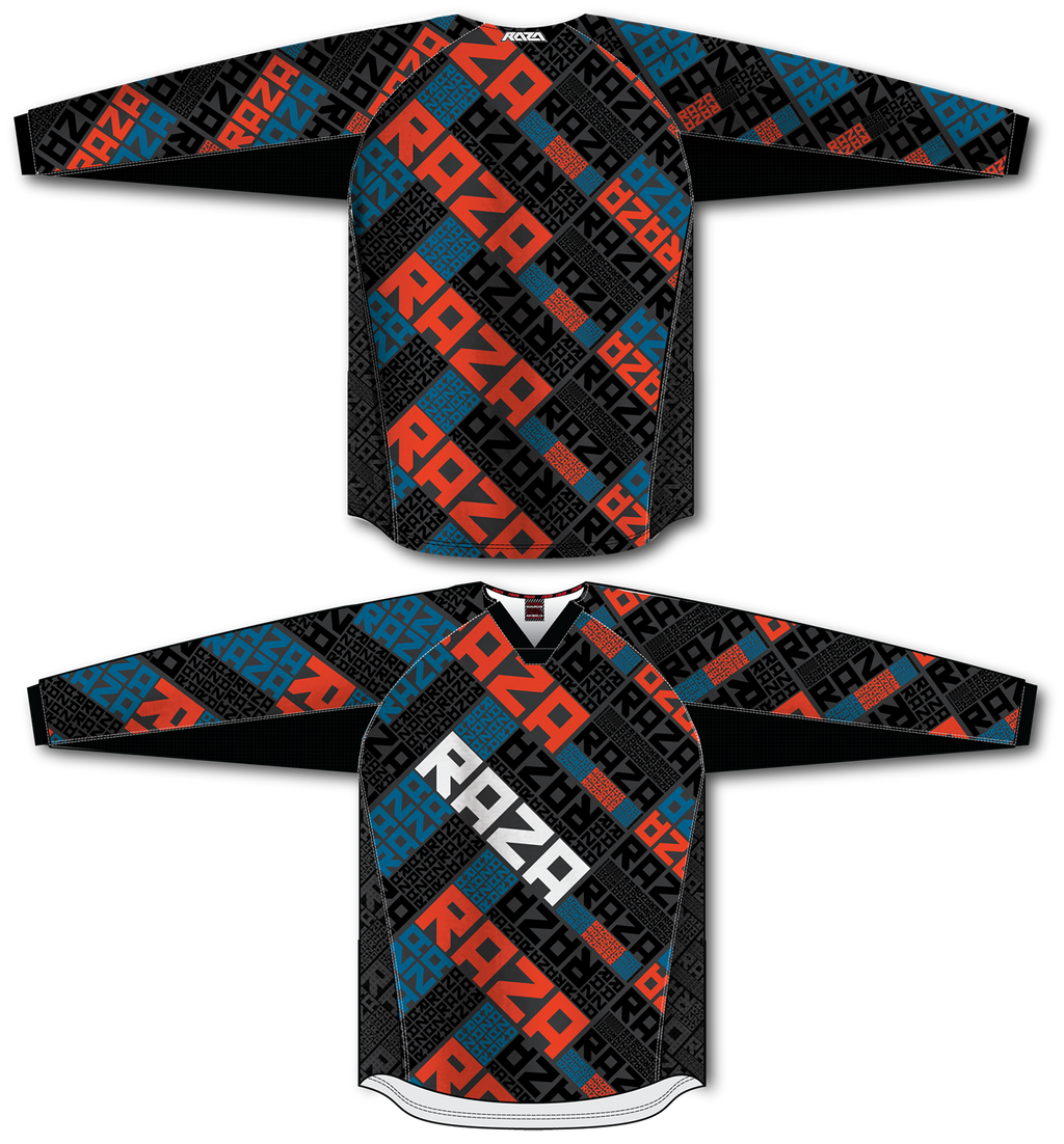 RazaRev Red/Blue Jersey