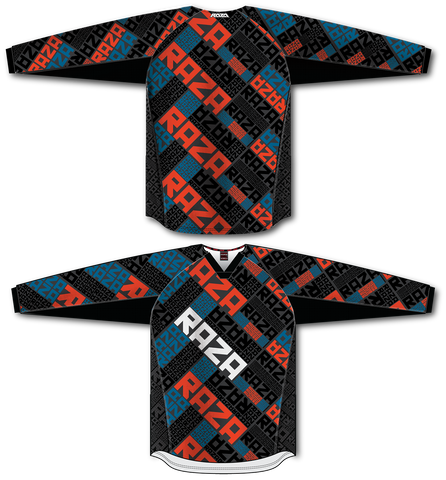 RazaRev Red/Blue TM2 Jersey