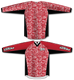 Bandana Red/White TM2 Jersey - RazaLife - TM2 Jersey - RazaLife - RazaLife - paintball - custom - jerseys - sports - uniforms - woodsball - softball - baseball - basketball - soccer