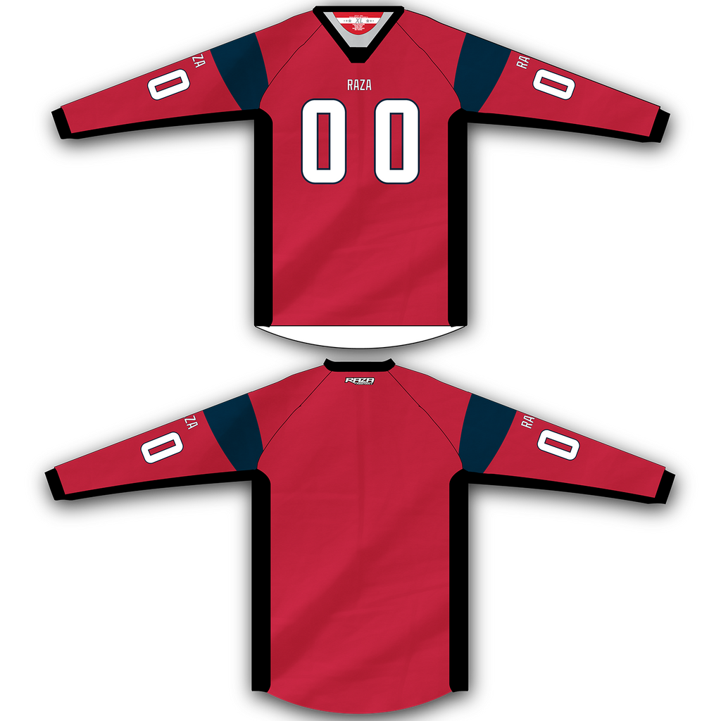 Red Blue Jersey