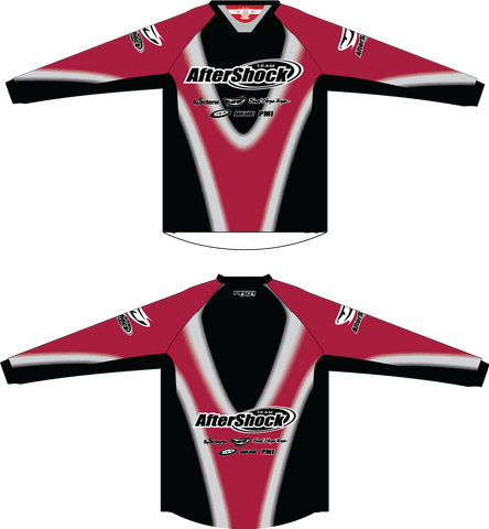 Aftershock Throwback Red TM2 JERSEY
