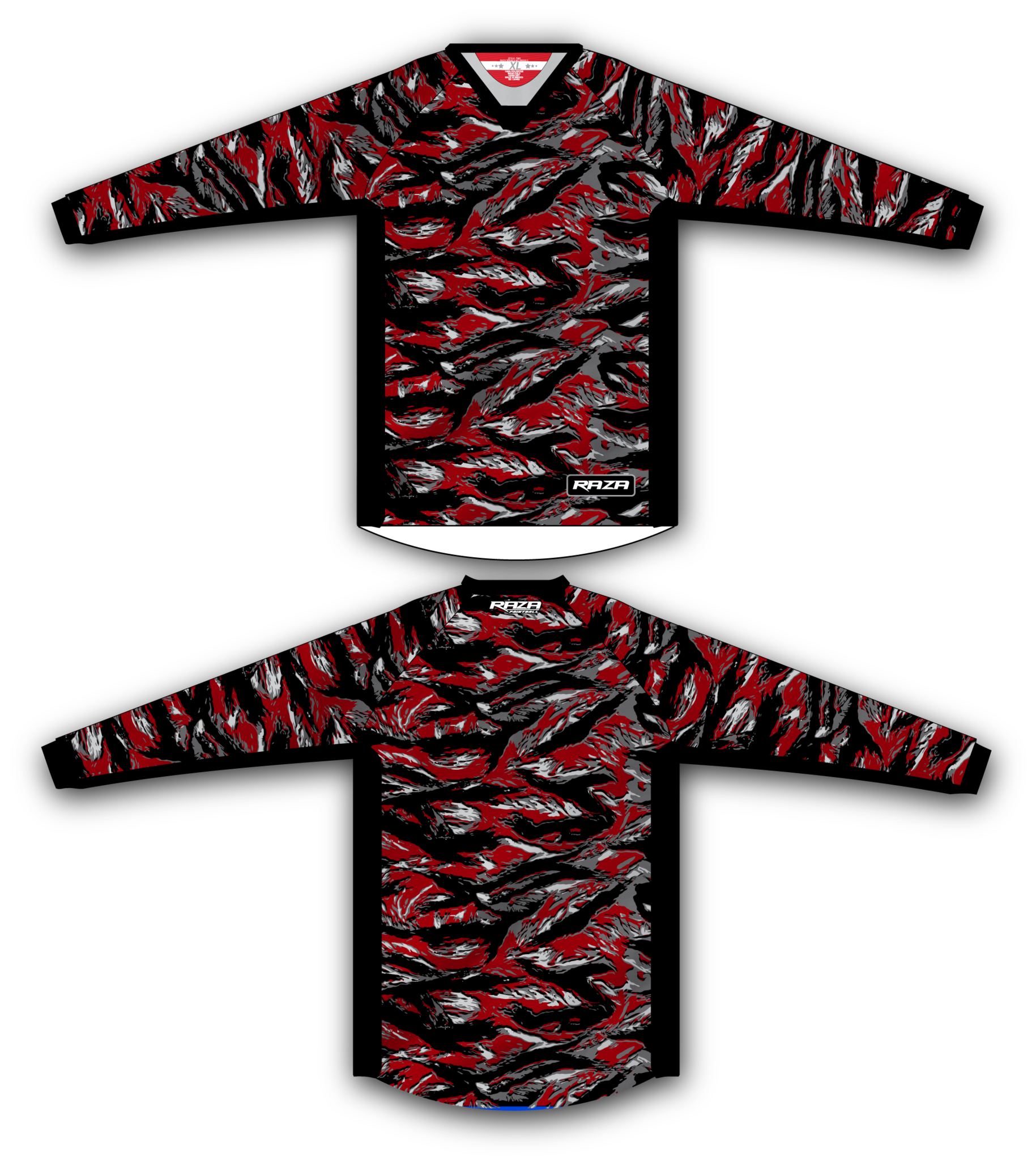 Red Tiger TM2 Jersey