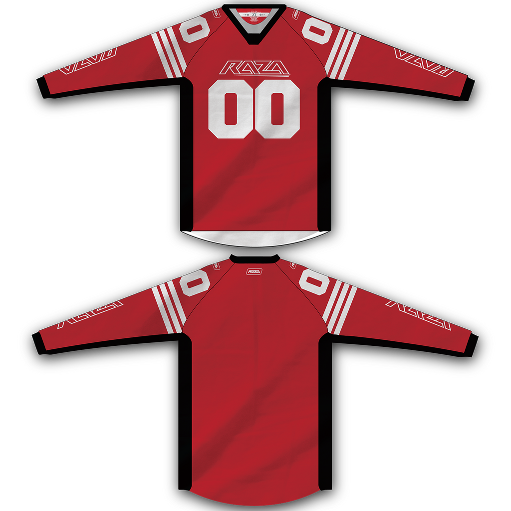 Red White Stripe Jersey