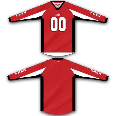 Red White Black TM2 Jersey