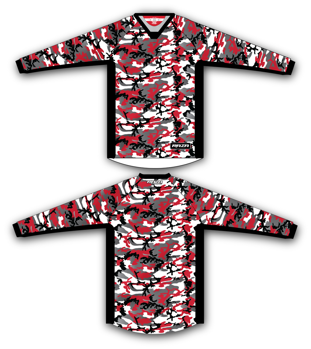 Red Woodland Jersey