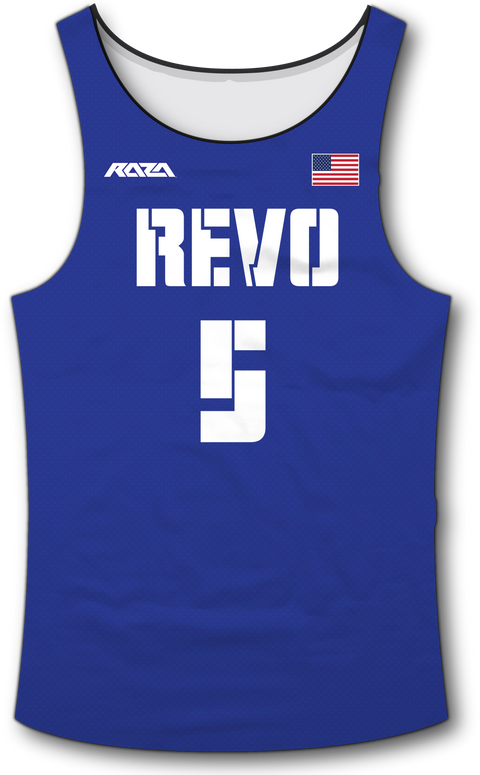 USA Revo Blue Tank Top