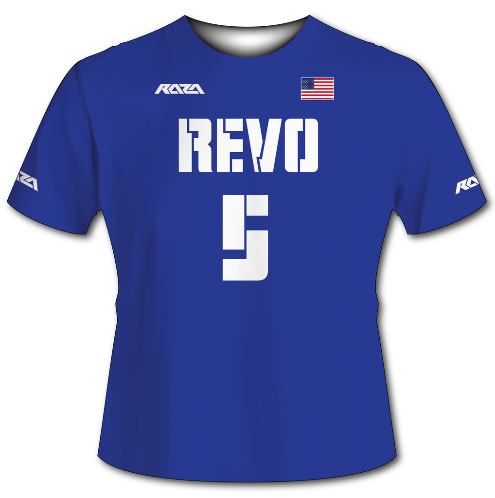 USA Revo Blue Tech Shirt