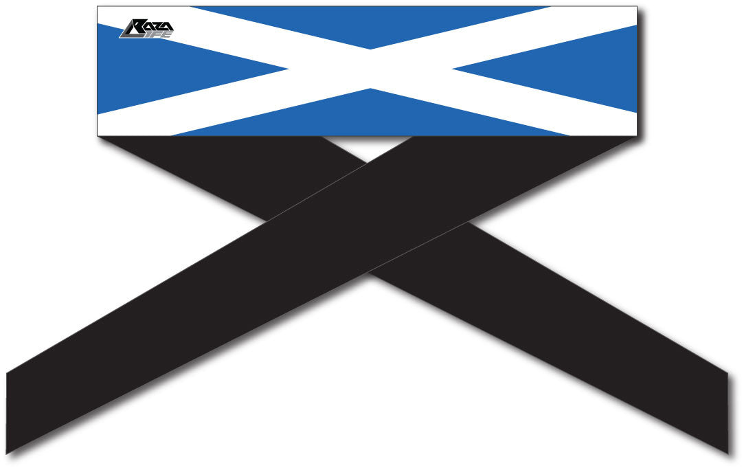 Scottish Flag Series Headband