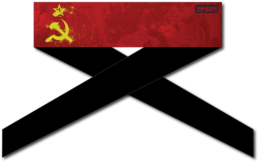 Soviet Flag Series Headband