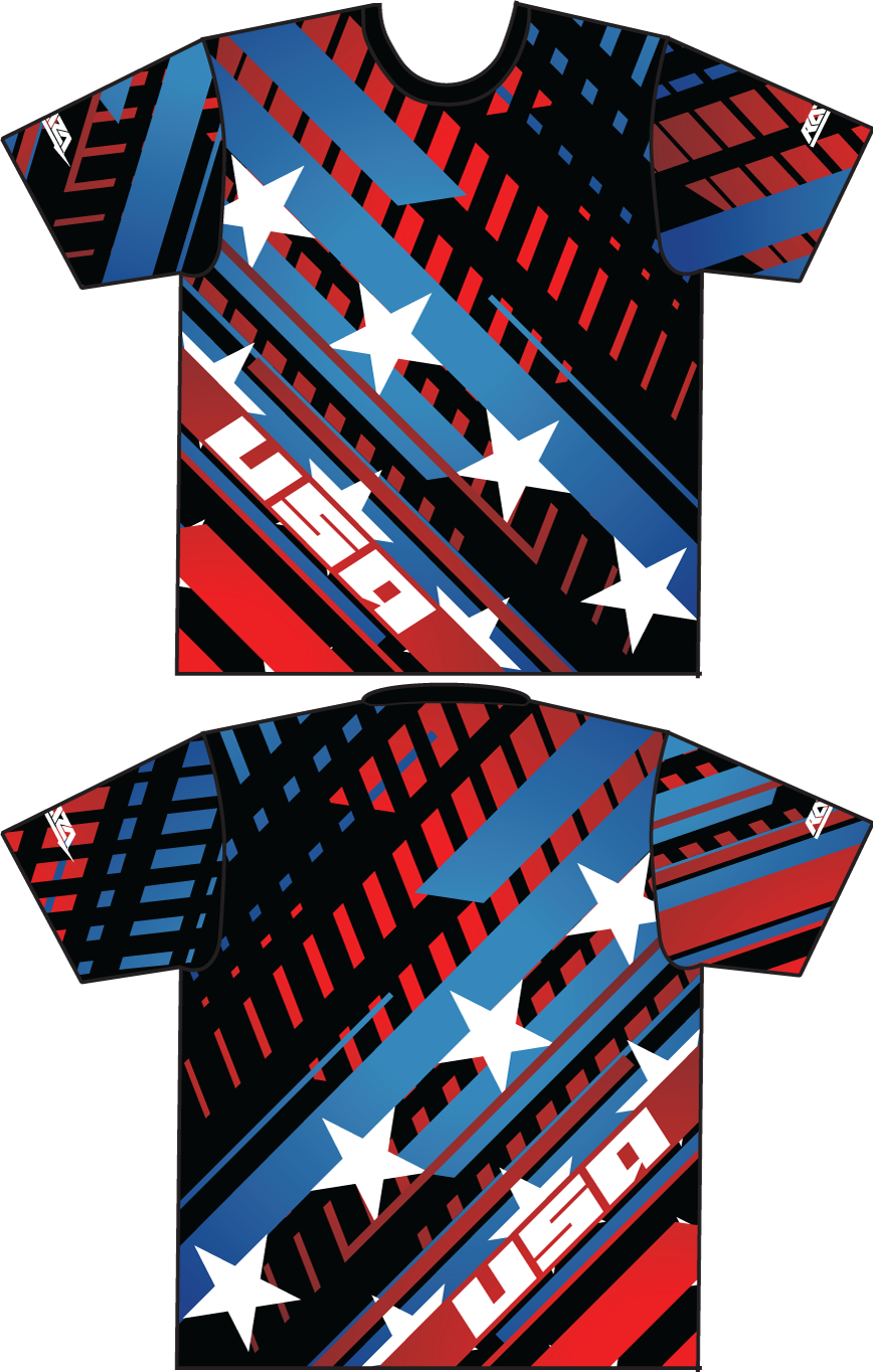 Stars & Stripes Tech Shirt