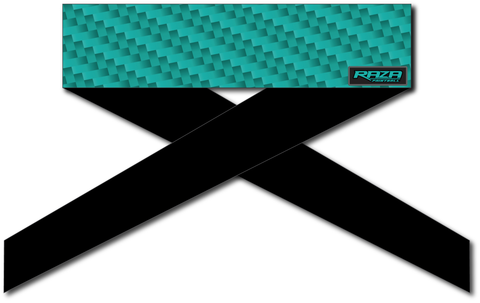 Carbon Teal Headband